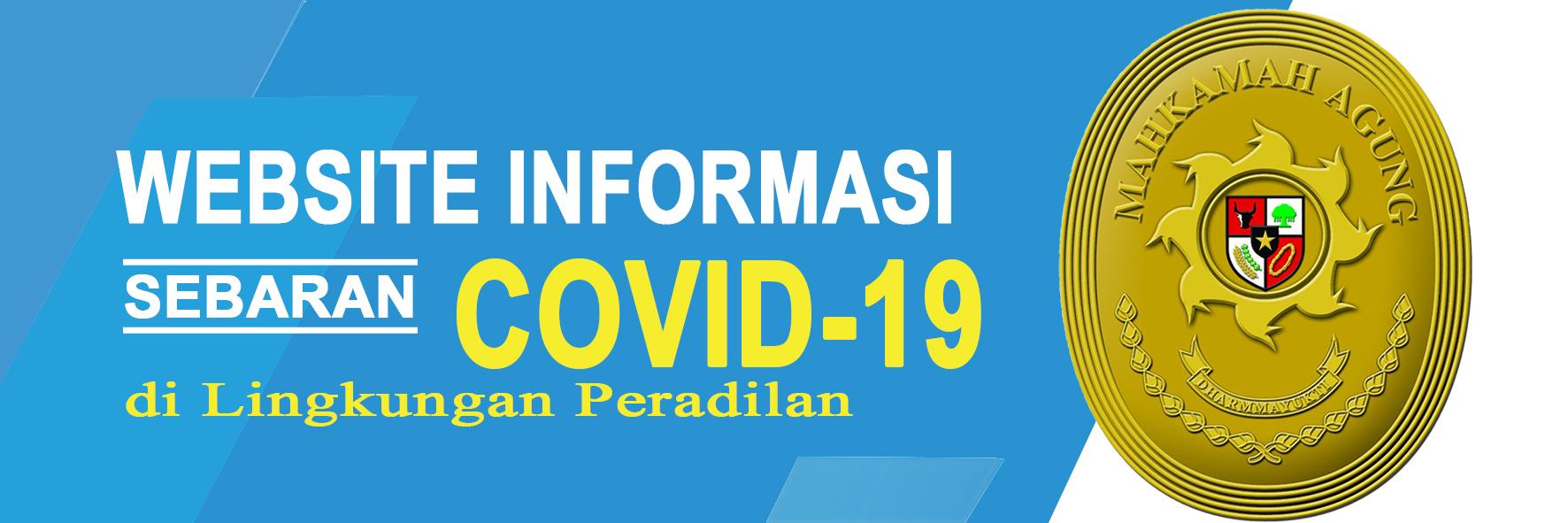 Kasus Covid-19 di Lingkungan Peradilan Indonesia